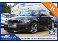 2009 58 BMW 1 SERIES 2.0 123D M SPORT 2D 202 BHP DIESEL