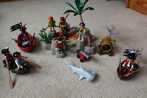 PLAYMOBILE - various pirates