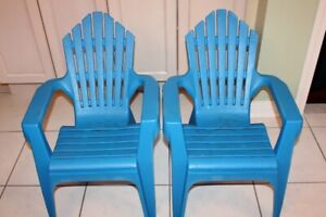 OUTDOOR TODDLER CHAIR ADIRONDACK - HEAVY DUTY