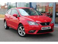 2015 SEAT IBIZA 1.4 Toca LOW MILES, NAV, BLUETOOTH and 16andquot; ALLOYS