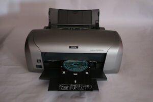 Epson inkjet dvd printer
