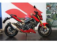 2017 17 SUZUKI GSXS 750 PRE-REGISTERED PEARL MIRA RED