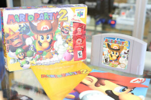 Mario Party 2 for N64 with Game + Booklet (#156)