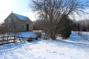 Stunning Renovated Century Home and Horse Farm - A Dream!