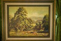 D.R. Hall original oil painting