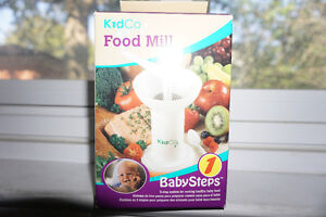 Food grinder/Food Mill for introducing solid foods