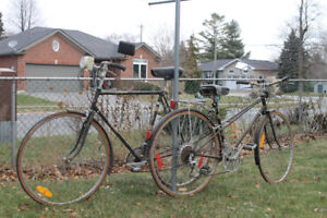 RALEIGH SPRITE BICYCLES. (Matched Pair)