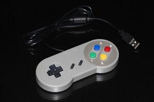 SUPER NINTENDO SNES-PC USB-MANETTE/CONTROLLER (NEUF/NEW) [VOIR/SEE DESCRIPTION]