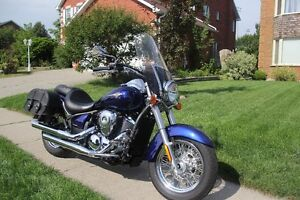 Mint Condition Kawasaki Vulcan 900 Classic - Low KMS! Cambridge Kitchener Area image 9