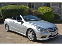 Mercedes-Benz E250 2.1TD 201bhp BlueEFFICIENCY 7G-Tronic 2012 CDI Sport 30K MILE