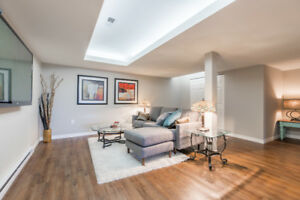 1500 SQFT FURNISHED WALK OUT BASEMENT SUITE WITH STUNNING VIEWS!
