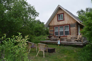Cozy Eco-Cabins at Wild Woods Hideaway (open May to end October)