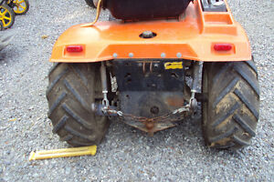 ariens lawn tractor with 3 point hitch