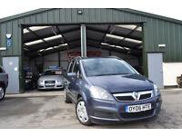 2006 Vauxhall/Opel Zafira 1.6i 16v MANUAL PETROL Life