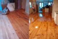 Hardwood Flooring Installation and Refinishing Services