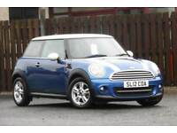 2012 MINI HATCH 1.6 COOPER 3DR HATCHBACK PETROL