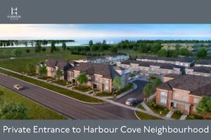 Urban and Traditional Townhomes for Sale in Whitby by the Water