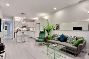 Condo 1càc style loft, tout meublé/inclus court terme *Mile-End*
