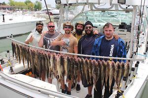 Lake Erie Walleye Lake St. Clair HOT Musky Charters