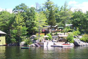 For Sale: 10 Acre Island on Upper Stoney Lake with 2 Cottages