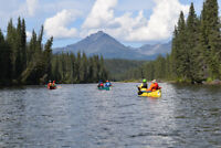 Upper Stikine River Canoeing and Hiking Expedition