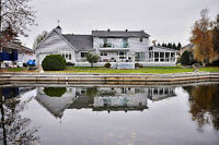 LAGOON CITY: Waterfront Home, Move in Ready 130 ft. Shoreline.