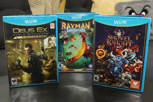 $20 Wii U Games -  Shovel Knight, Deus Ex Human Revolution