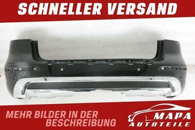 Mercedes ML W166 AMG Bj. ab 2011 Stoßstange Hinten mit Diffusor Original Schwarz