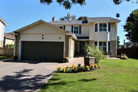 AMAZING BACKYARD OASIS: 4 Bdrm Home in Whitby