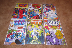 Infinity War 1-6 complete set -Marvel comics