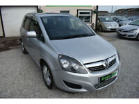 Vauxhall Zafira 1.8i 16v VVT SILVER 2010 7 SEATER + BEAUTIFUL+