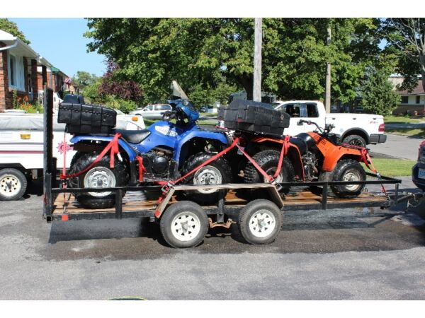 Yamaha 350 grizzly for sale canada for 2007 yamaha rhino 660 blue book value