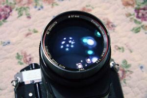 Vivitar Series-1  200mm F/3.5 Autofocus Lens, Canon FD Mount