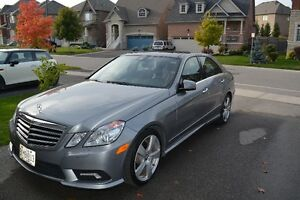 2011 Mercedes-Benz E-Class Leather Sedan