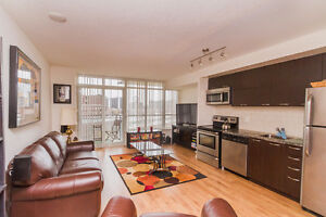 Furnished 1 BR in trendy Liberty village -All inclusive- MAY 1st