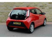 2018 Toyota AYGO 1.0 VVT-i X-Play 5dr Petrol red Manual