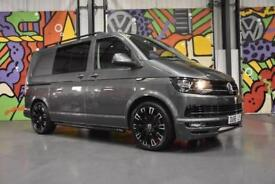 VW TRANPSORTER T6 T32 SWB 2.0TDI 140PS KOMBI HIGHLINE SPORTLINE PACK INDIUM GREY