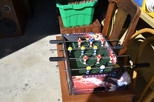 Small sized Portable Foosball table - approx 2 feet long Windsor Region Ontario image 2