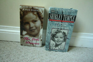 Shirley Temple Collector's VHS Tapes
