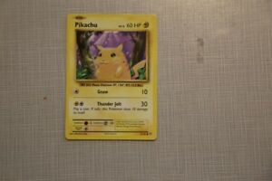 Pikachu first edition reprint