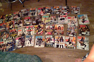 Guitar World magazines lot (44) from 2010-2013