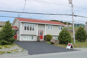 Beautiful Split Entry Home at 91 Bauline Line Ext Portugal Cove.