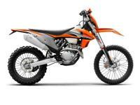 KTM 250 EXC-F Motorbike 2021 model