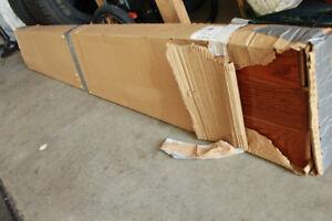 Plancher 3/4  de bois franc en chêne massif natural 1 boite
