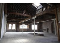 Warehouse Space for hire for filming and photoshoot