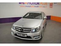 2012 12 MERCEDES-BENZ C CLASS 2.1 C220 CDI BLUEEFFICIENCY AMG SPORT 2D AUTO 170