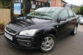 2005 (55 Plate) Ford Focus 1.8 Ghia Black Low Mileage FSH