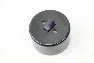 Alter Toggle Switch Bakelite round Exposed Light Switch Switch cross Switch