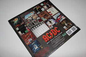 AC & DC-COLLECTIBLE-2017 CALENDAR ALBUM (NEUF/NEW) C022
