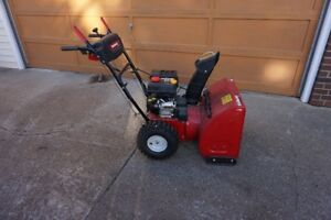 SNOW BLOWER - HARDLY BEEN USED - LIKE NEW!